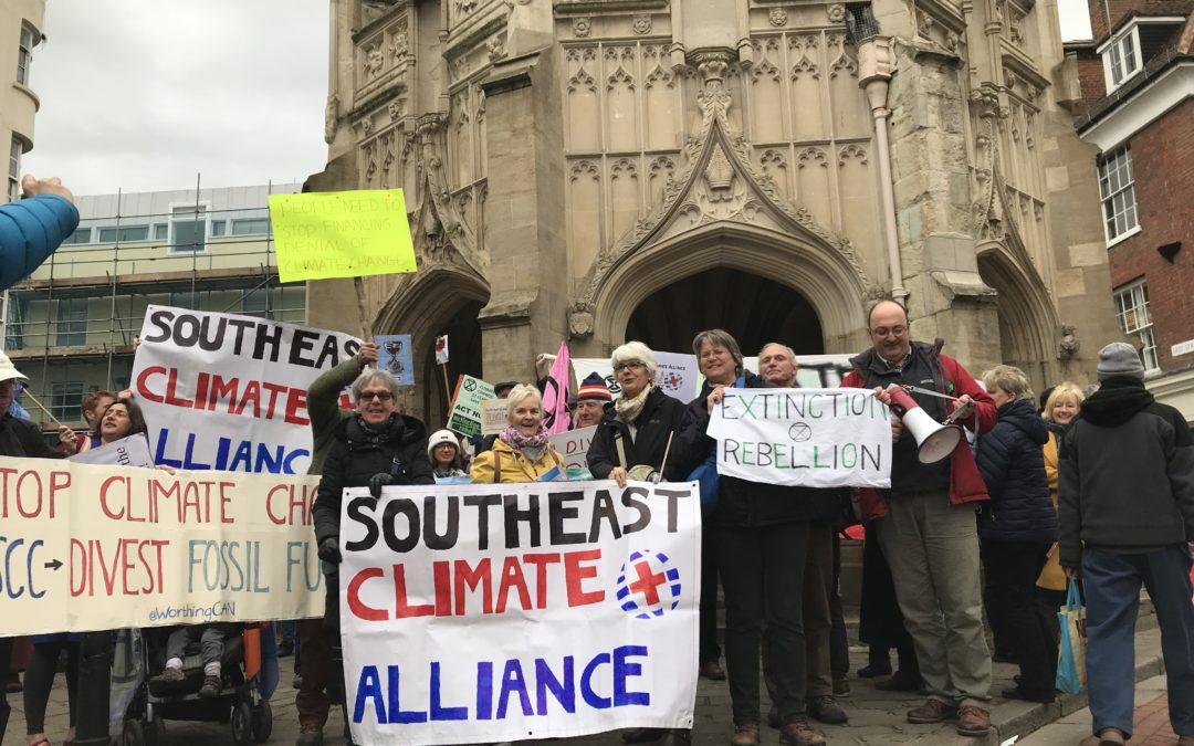 Climate motion passed unanimously by West Sussex County Council