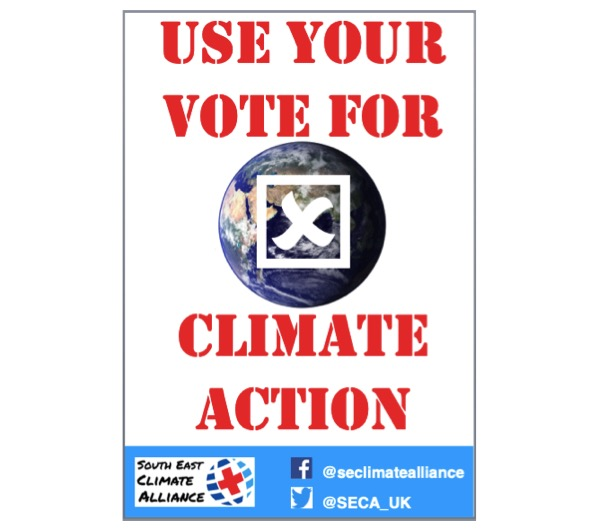 December Action: Vote for climate action!