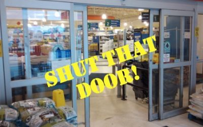 FEBRUARY ACTION: Shut that door!