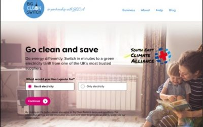 May Action: Switch to a green energy supplier and support SECA